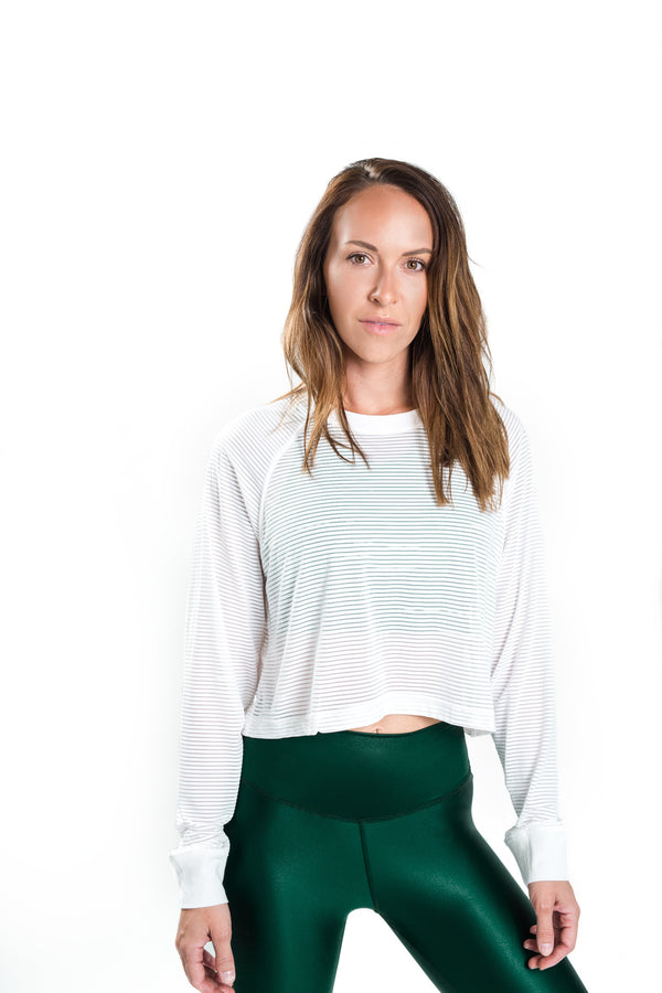 Breeze Crop - White