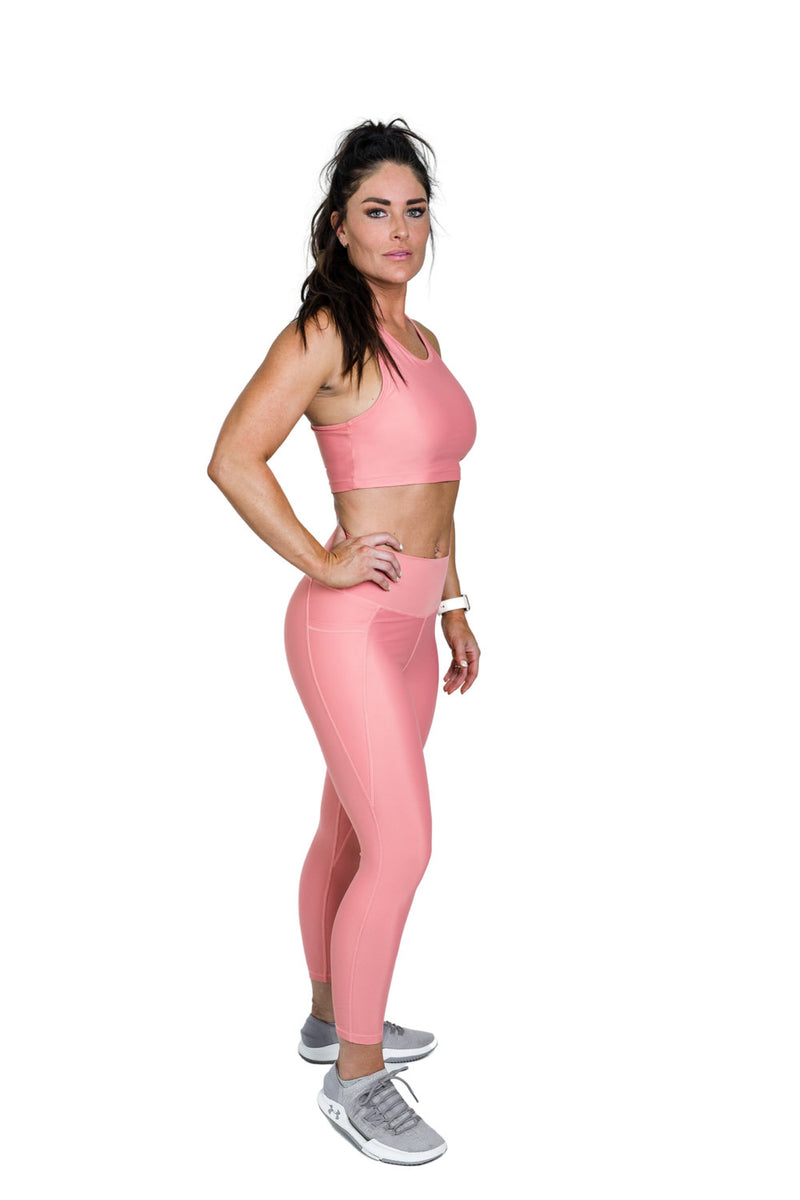 Flex Power Legging - Blush