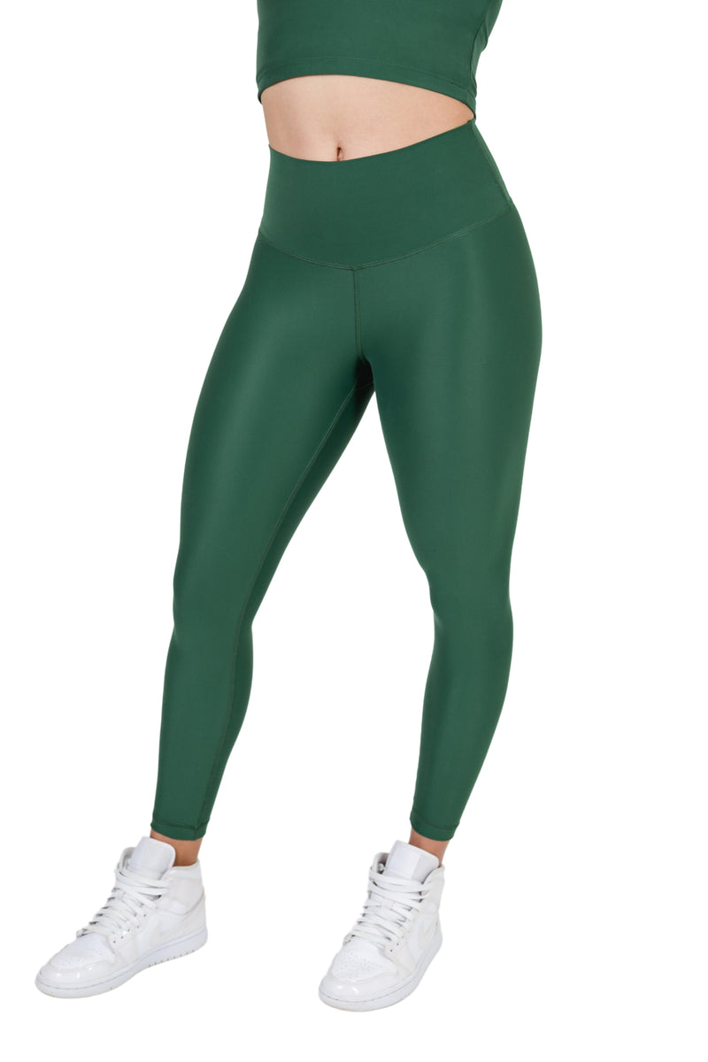 Suede Flow Legging 2.0 - Green