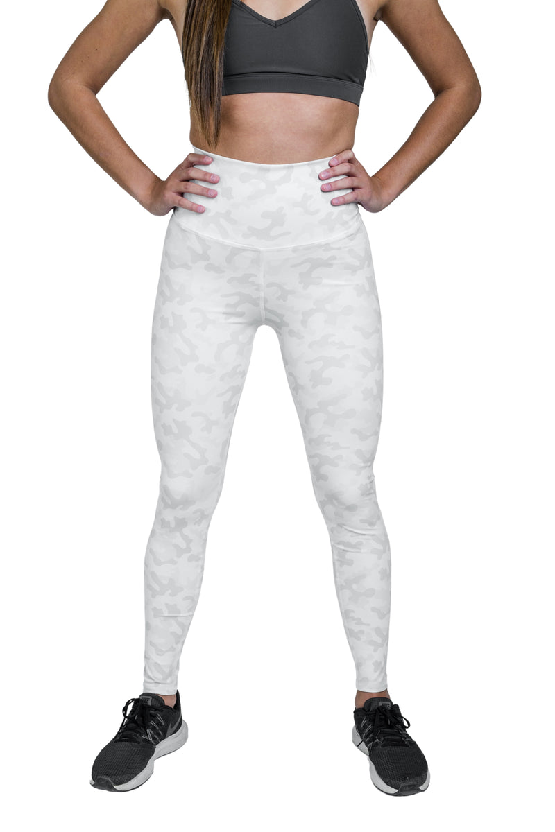 Movement Camo Legging - White