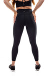 Suede Flow Legging 2.0 - Black