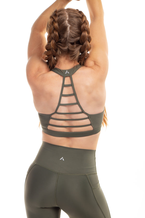 Flex Ladder Bra 2.0 - Olive