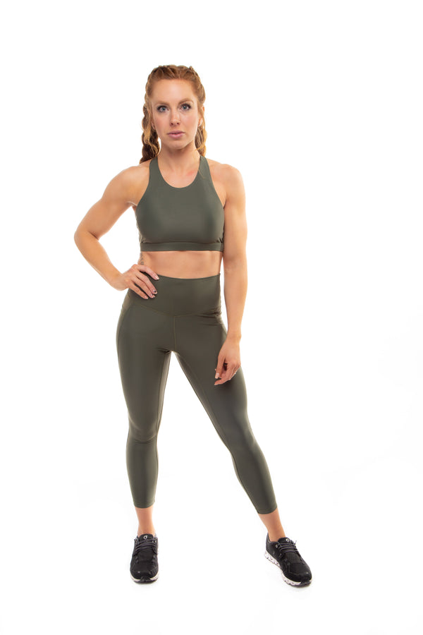 Flex Power Legging 2.0 - Olive
