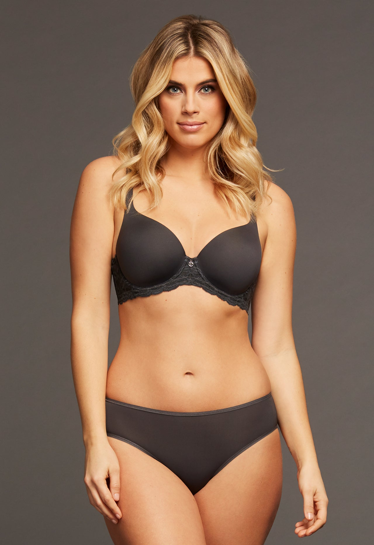 Pure Plus Black Bra