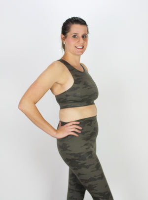Glyder Camo Sports Bra