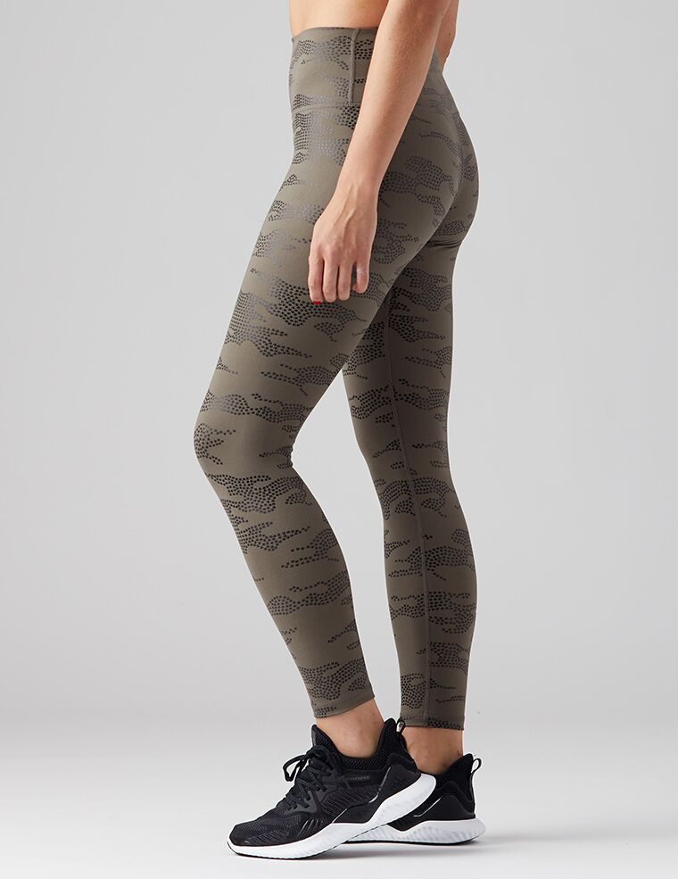 High Performance Camo Leggings