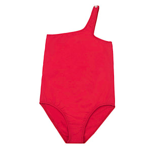 Gina One strap swimsuit - Red