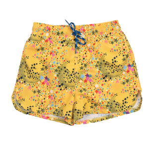 Jim Stars Yellow - Short de bain