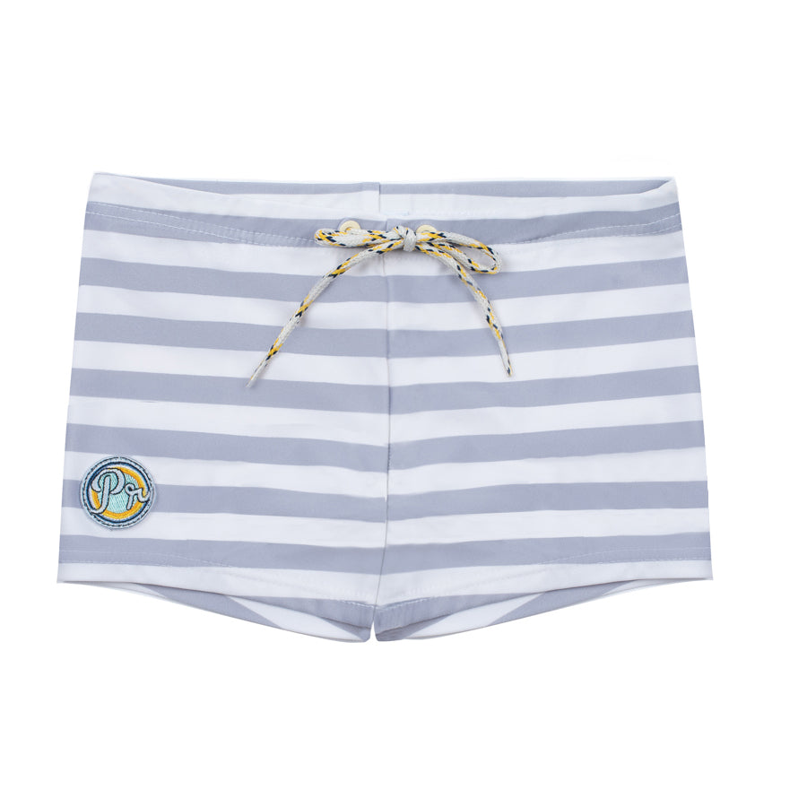 Kael Stripes Pale Grey - Boxer short
