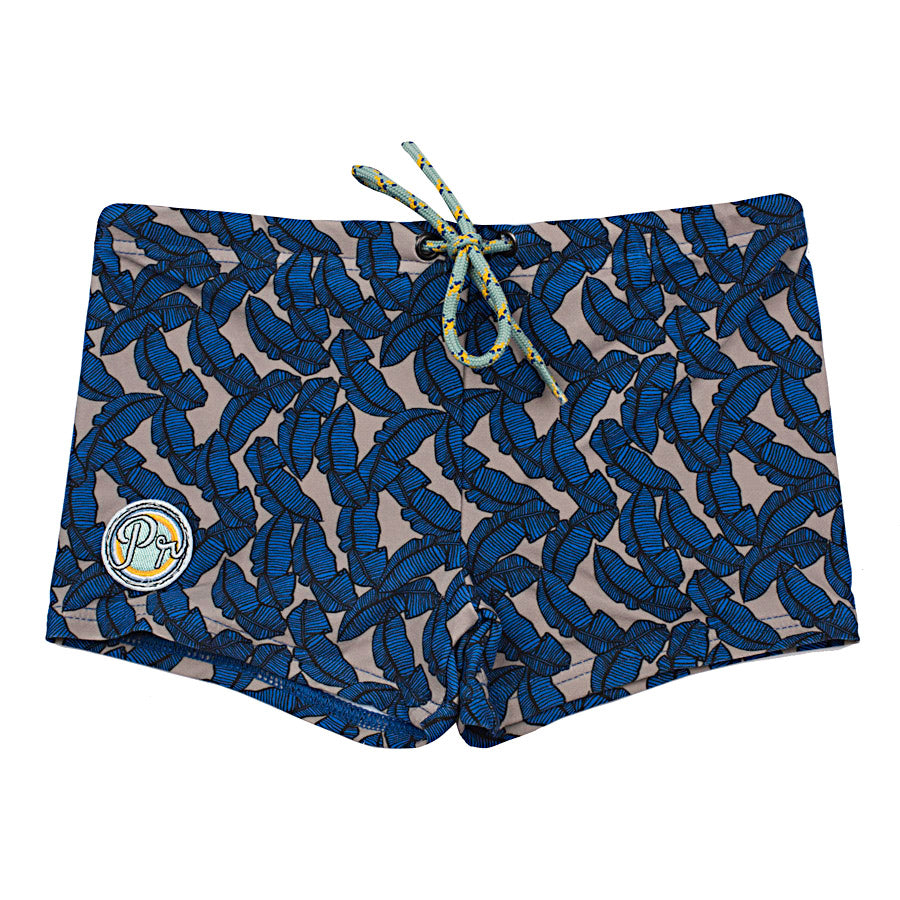 Kael Boxer short - Leaf Blue