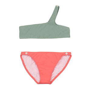 Shirel Bikini - Khaki Bubble Gum