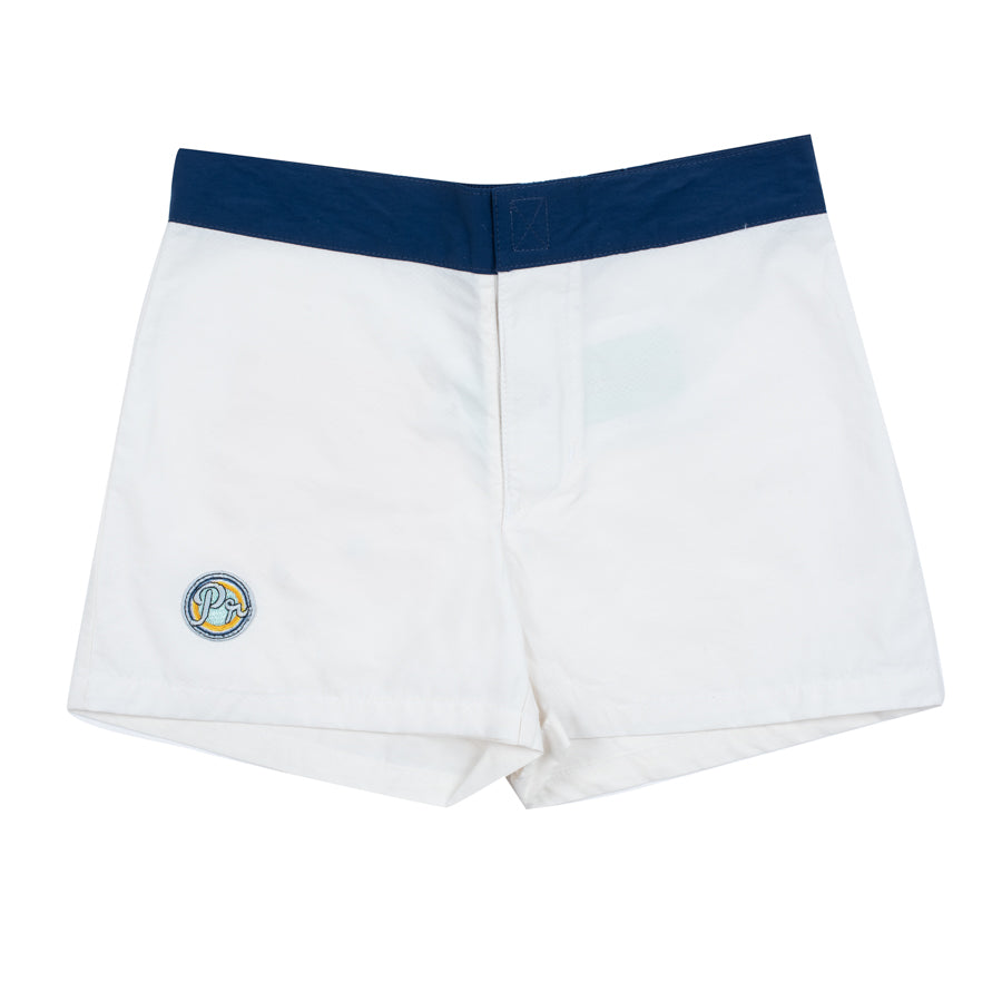Sidney Fitted Trunk short - Ecru