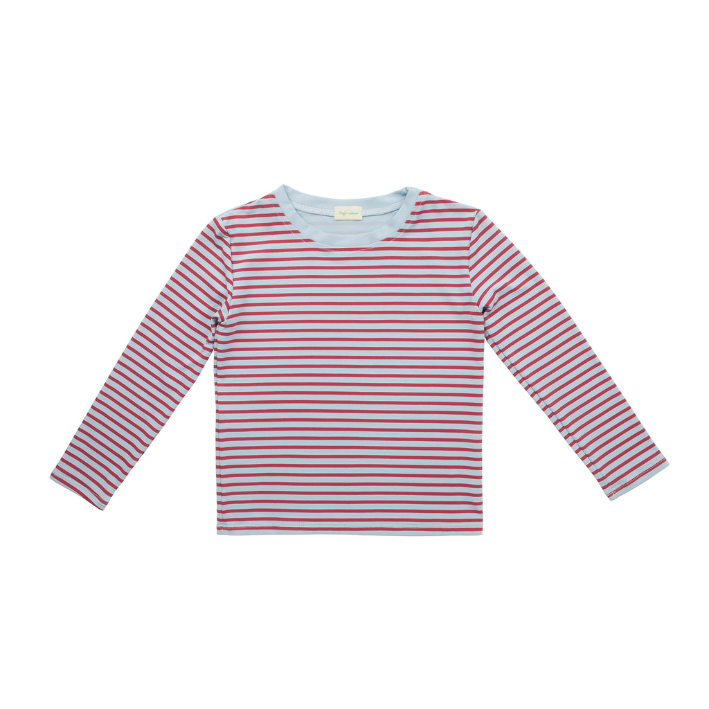 Albert Stripes Eden Bordeaux