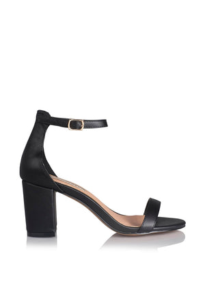 Florida Heels by Billini in Black or Nude