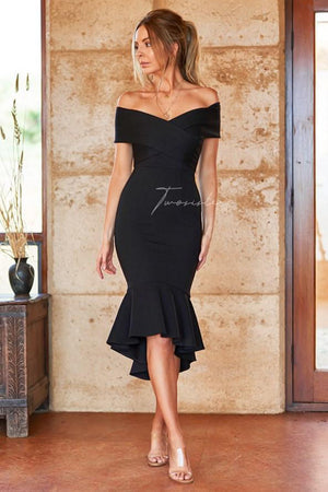 Brienne Dress by Twosisters - Black