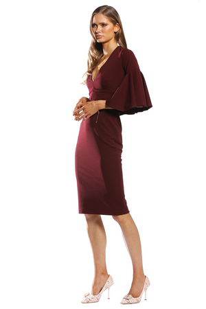 Pasduchas Covet Midi in Wine