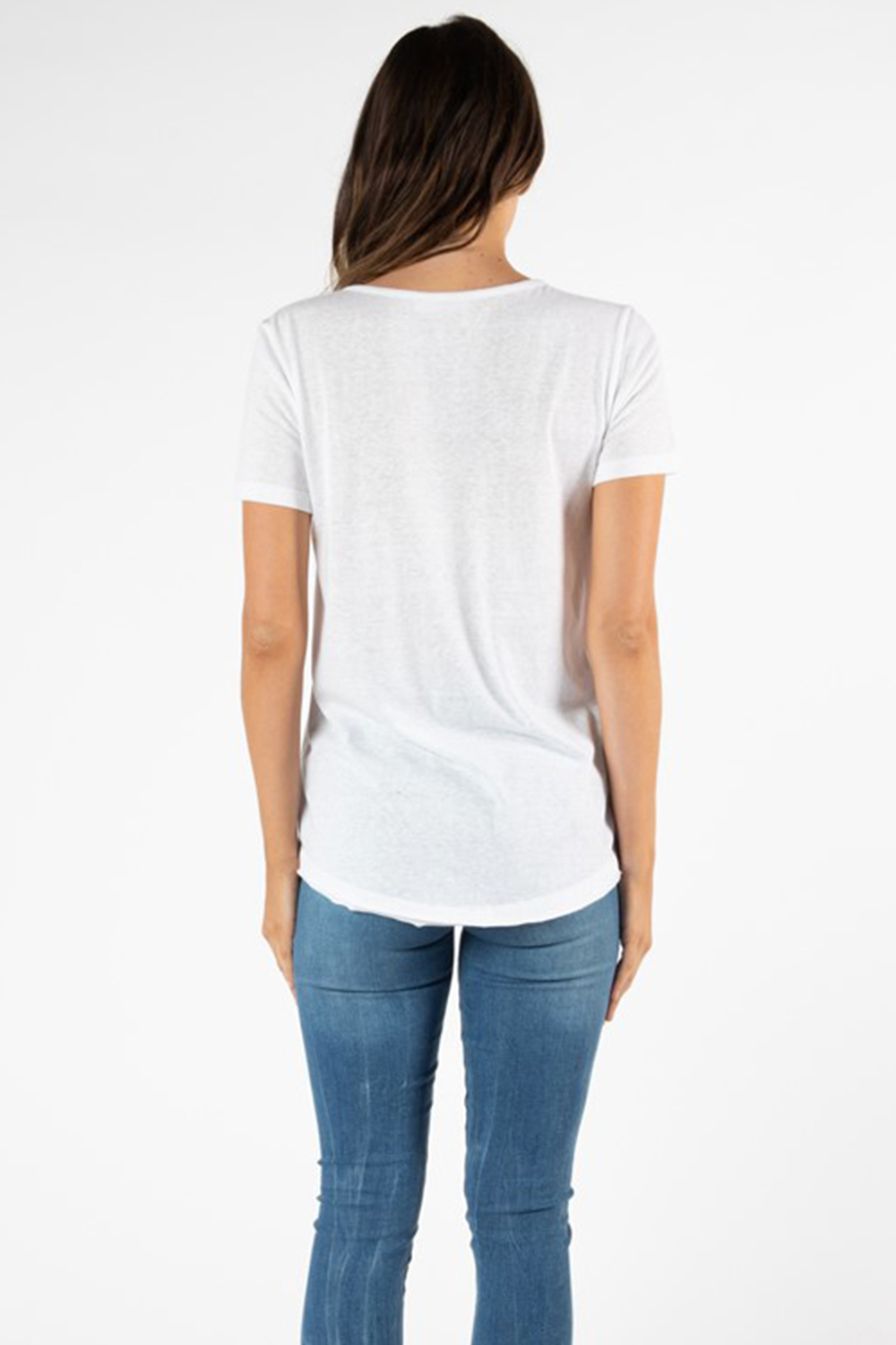 Denver Tee by Betty Basics - White