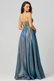 Ivy Gown PO854 by Tania Olsen Designs - Royal Blue/Gold