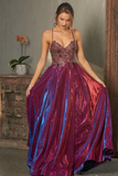Ivy Gown PO854 by Tania Olsen Designs - Fuschia/Gold
