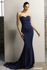 Jadore Gown in Black, Navy & Red - JX1047