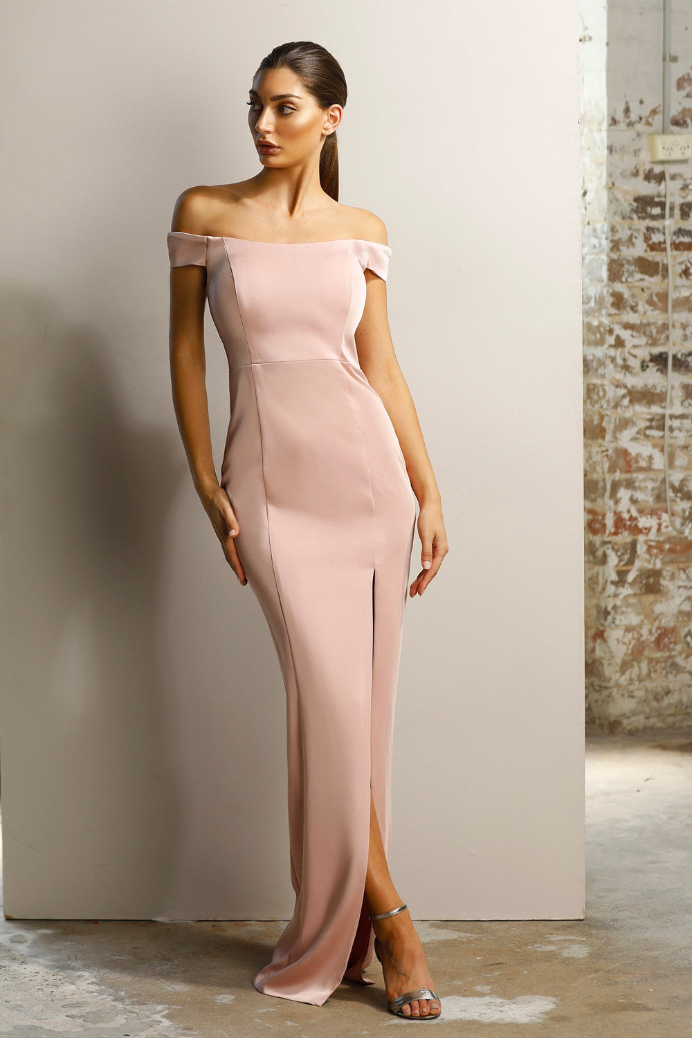 Jadore Gown in Dusty Pink - JX1053
