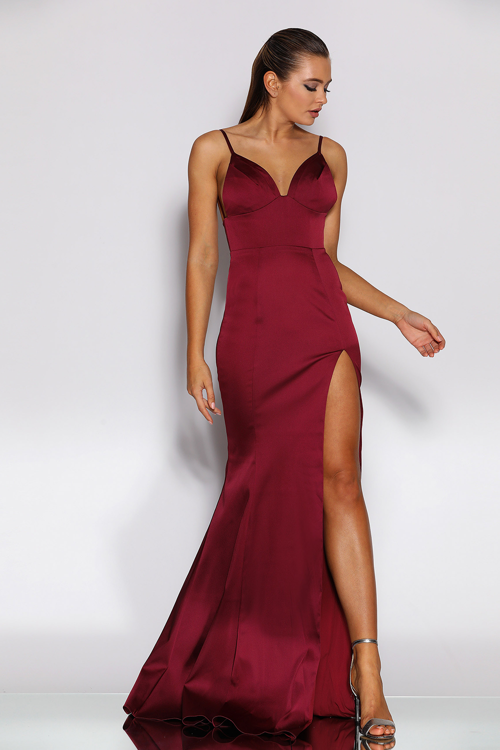 Jadore Gown in Berry - JX2055