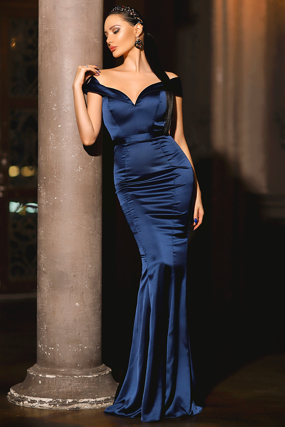 JP109 Gown - Midnight by Jadore