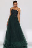 JX2100 Gown by Jadore - Emerald
