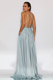 JX2106 Gown by Jadore- Powder Blue