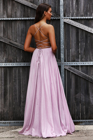 JX2106 Gown by Jadore- Pink
