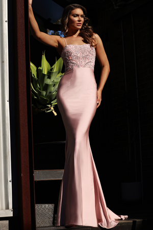 Jadore Gown JX3017 - Dusty Pink