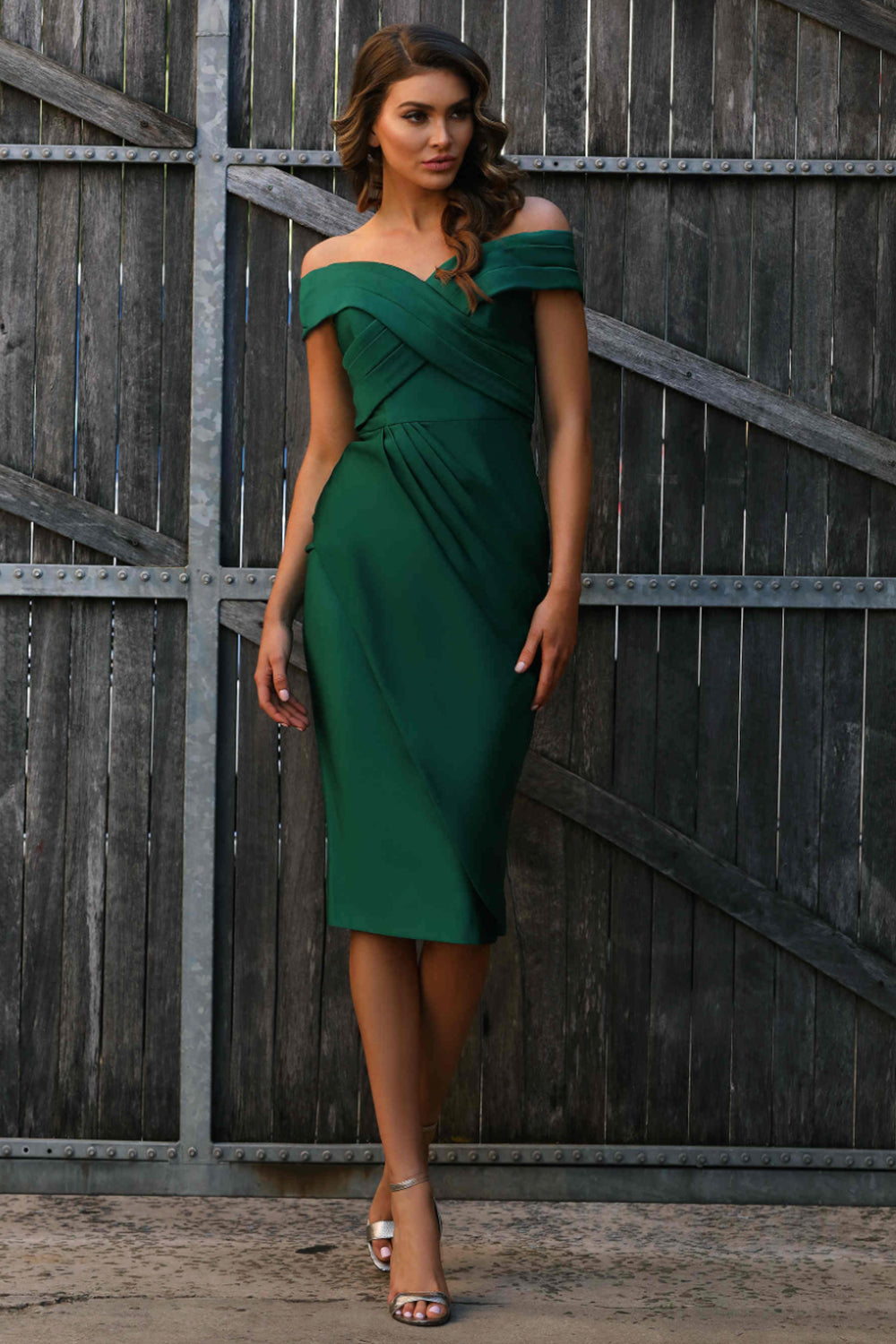 JX3050 Dress by Jadore - Emerald