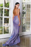 JX4010 Gown by Jadore - Plum