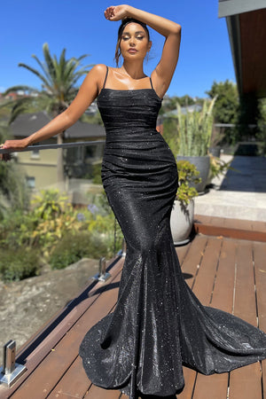 JX4010 Gown by Jadore - Black