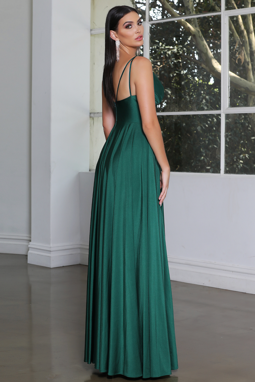 Jadore Gown JX4050 - Dark Green