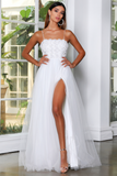 JX4057 Gown by Jadore - Ivory