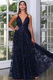 JX4064 Gown by Jadore - Navy