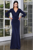 Copy of Jadore Gown JX4068 -Navy