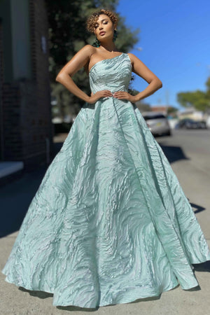 Jadore Gown JX4087 - Mint