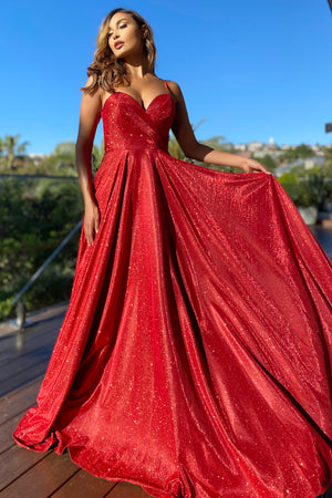 JX5007 Gown by Jadore - Red