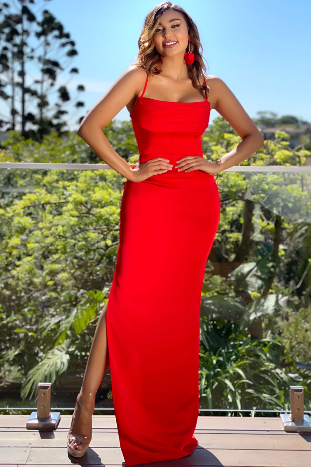 Jadore Gown JX5017 - Red