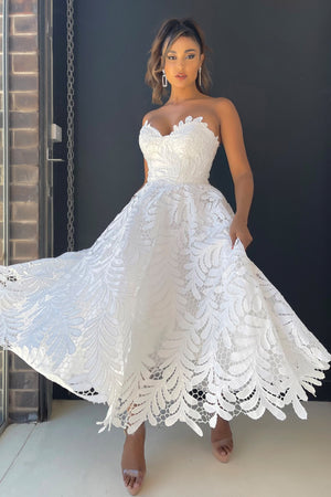 Jadore Dress JX5031 - Ivory