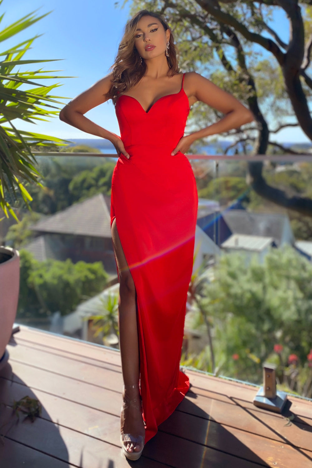 Jadore Gown JX5064 - Red