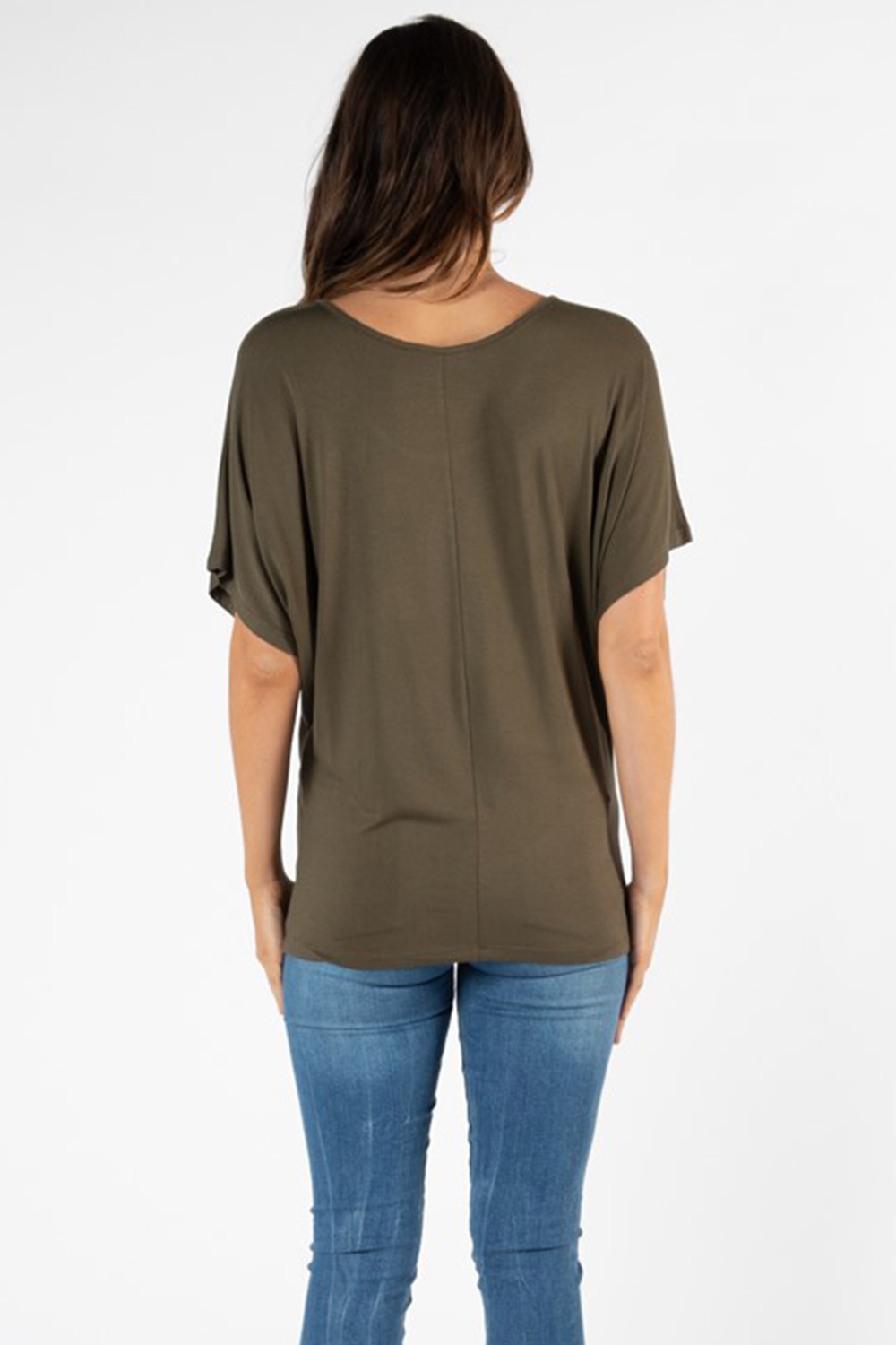 Maui Tee in Khaki by Betty Basics