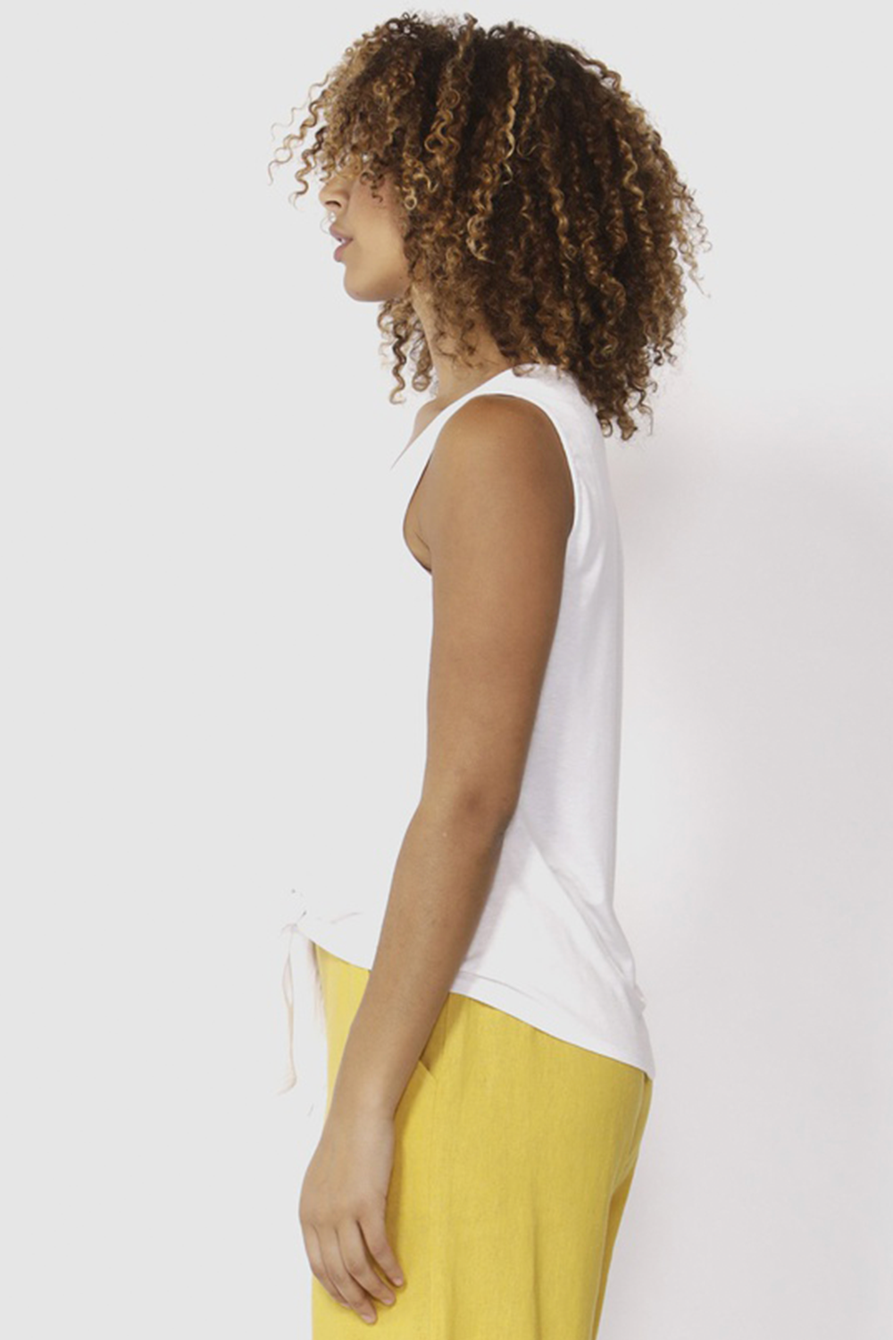 Memphis Tank by Betty Basics - White