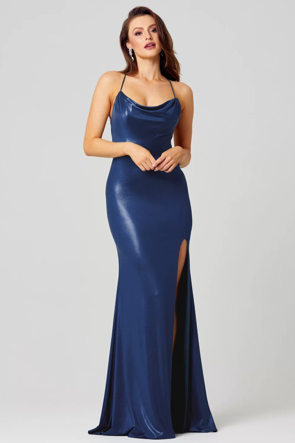 Piper Gown PO858 by Tania Olsen Designs - Navy