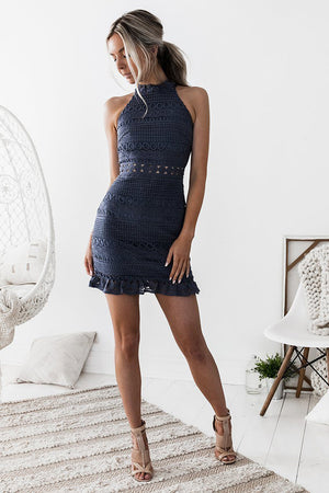 Rivers Dress by Twosisters - Steele Blue