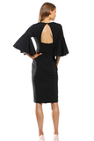Covet Midi by Pasduchas in Black and Wine