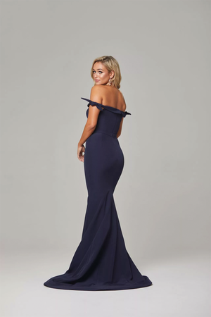 Remi Gown by Tania Olsen in Navy
