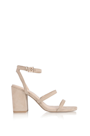 Georgia Heel in Natural by Verali